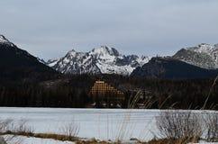 Montaña alto Tatras Foto de archivo