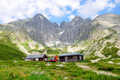 Montaña alto Tatras, Eslovaquia, Europa Fotos de archivo