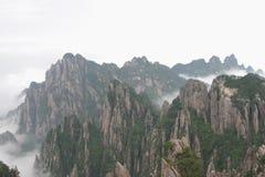 Montaña amarilla 2, China Foto de archivo