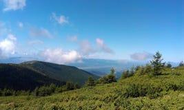 Montaña Apuseni de Bihor Foto de archivo libre de regalías