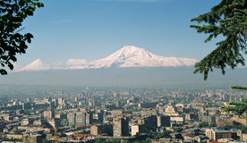 Montaña Ararat. Foto de archivo libre de regalías