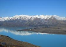 Montaña azul 2 del lago Foto de archivo libre de regalías