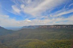 Montaña azul 4 Fotos de archivo libres de regalías