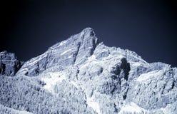 Montaña azul Imagen de archivo libre de regalías