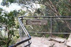 Montaña azul Australia fotos de archivo libres de regalías