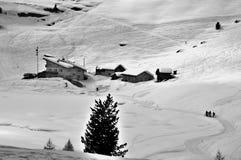 Montaña B/W Imagenes de archivo