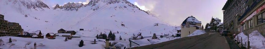 Montaña Bagnere-de-Bigore Imagenes de archivo