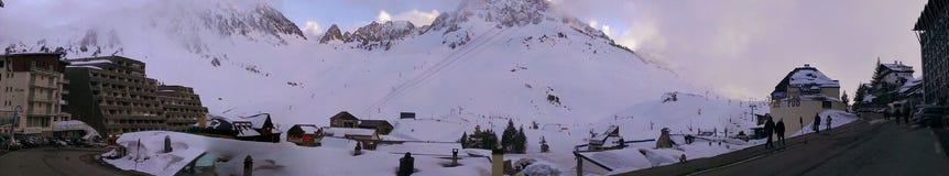 Montaña Bagnere-de-Bigore Imágenes de archivo libres de regalías