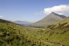 Montaña Beinn Dorain, Escocia, Foto de archivo