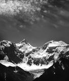 Montaña Belukha los 4506m Fotos de archivo libres de regalías