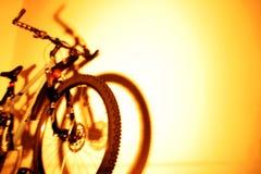 Montaña-bici Imágenes de archivo libres de regalías