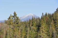 Montaña blanca de la cara Fotos de archivo