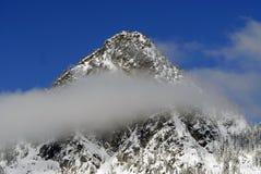 Montaña brumosa fotografía de archivo libre de regalías