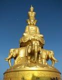 Montaña Buddha de Emei imágenes de archivo libres de regalías