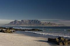 Montaña Cape Town de la tabla Imagen de archivo
