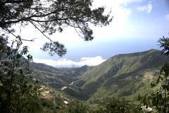 Montaña Caracas Venezuela de Waraira Repano Ávila imagenes de archivo