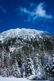 Montaña cerca del lago Tahoe imagen de archivo