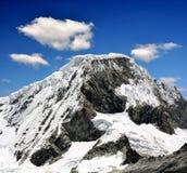 Montaña Chopicalqui - Perú fotografía de archivo libre de regalías