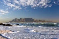 Montaña Ciudad del Cabo del vector Fotos de archivo