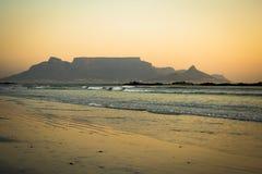 Montaña Ciudad del Cabo del vector Fotos de archivo libres de regalías