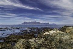 Montaña Ciudad del Cabo del vector imagenes de archivo