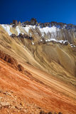 Montaña coloreada Imagenes de archivo