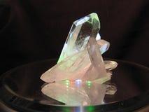 Montaña cristal Imagen de archivo libre de regalías
