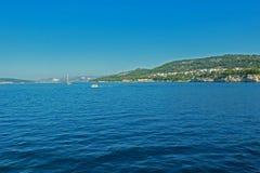 Montaña cristalina Croacia del agua Fotos de archivo libres de regalías