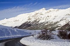 Montaña de Abruzzi Fotografía de archivo libre de regalías