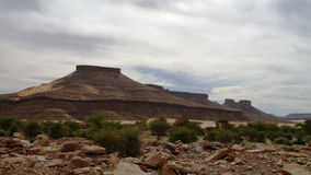 Montaña de Adrar, Mauritania Fotos de archivo libres de regalías