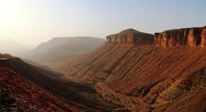 Montaña de Adrar, Mauritania Imágenes de archivo libres de regalías