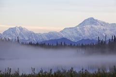 Montaña de Alaska Denali imagen de archivo libre de regalías