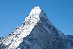Montaña de Ama Dablam Imagen de archivo libre de regalías
