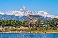 Montaña de Annapurna Imágenes de archivo libres de regalías