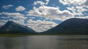 Montaña de Banff Imagen de archivo libre de regalías