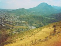 Montaña de Banyak de Batu, Indonesia Foto de archivo