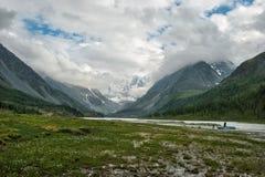 Montaña de Belukha Foto de archivo libre de regalías