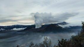 Montaña de Bromo fotografía de archivo libre de regalías
