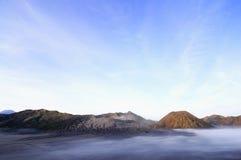 Montaña de Bromo Imagen de archivo libre de regalías
