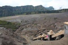 Montaña de Bromo Fotos de archivo libres de regalías