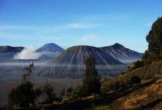 Montaña de Bromo Fotografía de archivo