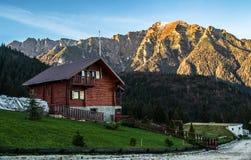 Montaña de Bucegi Fotografía de archivo