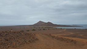 Montaña de Cabo Verde Imagen de archivo
