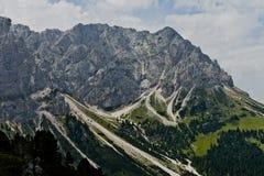 Montaña de Campiler, el Tyrol del sur Imagen de archivo libre de regalías