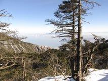 Montaña de Cangshan imagenes de archivo