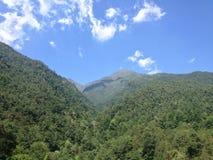 Montaña de Cangshan fotografía de archivo libre de regalías