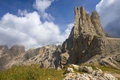 Montaña de Catinaccio Imagen de archivo
