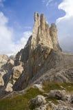 Montaña de Catinaccio Imagen de archivo libre de regalías