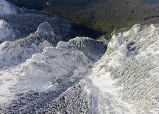 Montaña de Ceahlau en rumano Cárpatos Fotografía de archivo libre de regalías