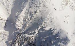 Montaña de Ceahlau en rumano Cárpatos Imagen de archivo